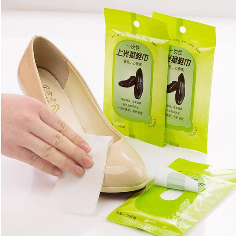 Салфетки для полировки обуви 066