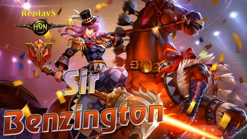 HoN replays - Sir_Benzington - `Wei Immortal_Rank