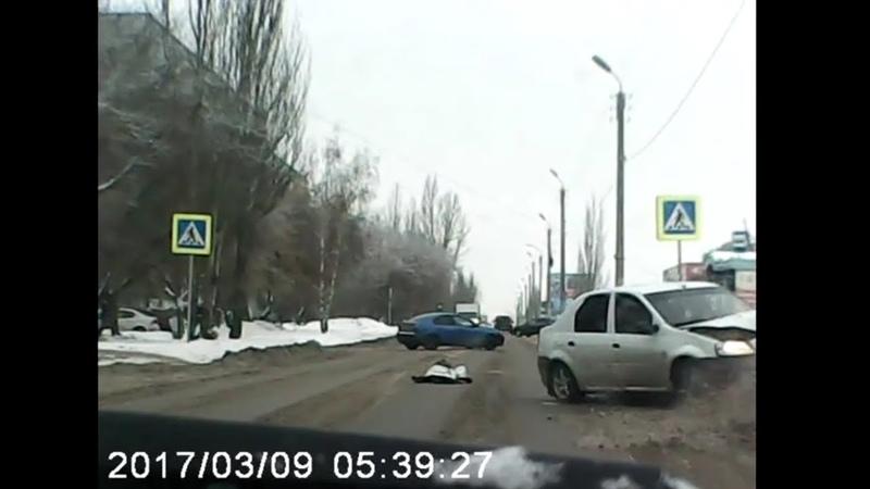 Сбили девочку по ул Архитекторов Омск 18 01 2019