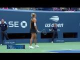 Сокрушительные удары Серены и Канепи, на фоне которых женственным выглядит даже теннис Федерера