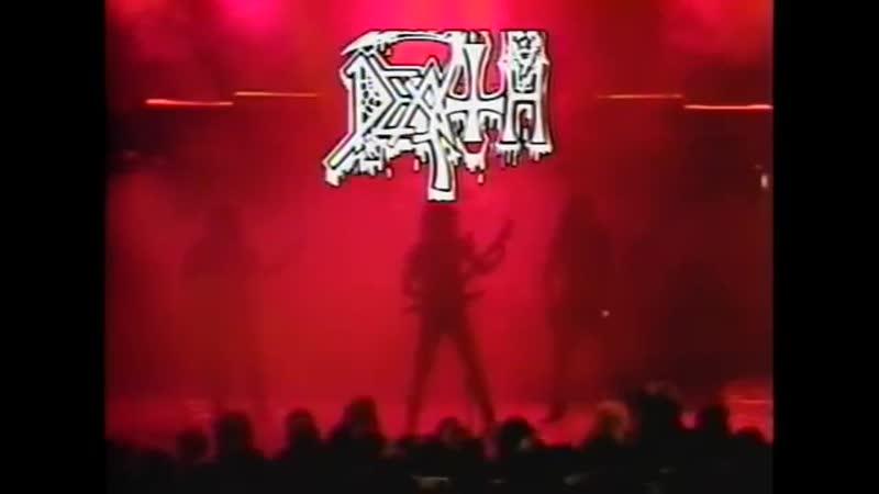 DEATH LEFT TO DIE † PULL THE PLUG † FORGOTTEN PAST PHILADELPHIA 1988