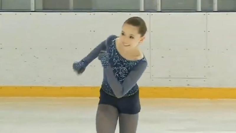 [73.45] Камила ВАЛИЕВА Kamila Valieva - Moscow City Cup - Junior Ladies SP - January 12, 2019