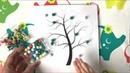 Развивающие видео и игры для детей - Игры по методике Монтессори - Сортировка - Волшебное дерево