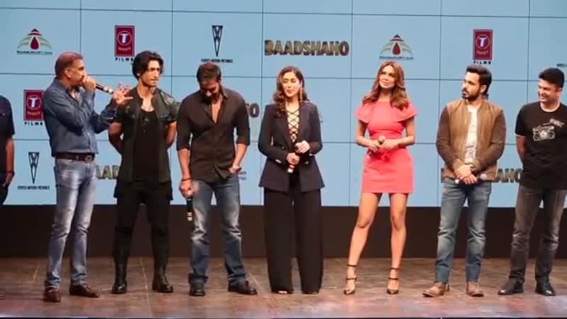 Baadshaho Trailer Launch _ Ajay Devgn _ Emraan Hashmi _ Vidyut Jammwal _ Full Uncut
