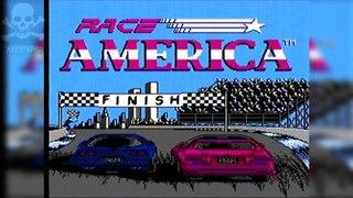 [Famiclone-50HZ]A-E5 American Race Cars - Gameplay