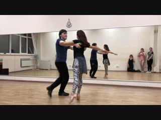 Саша Кудряшов и Татьяна Пинарина Zouk. Тема: Контрбаланс 20.11.2018