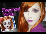 Rapunzel Zombie - Once upon a Zombie Doll *^* Halloween Tutorial Maquillaje /Makeup