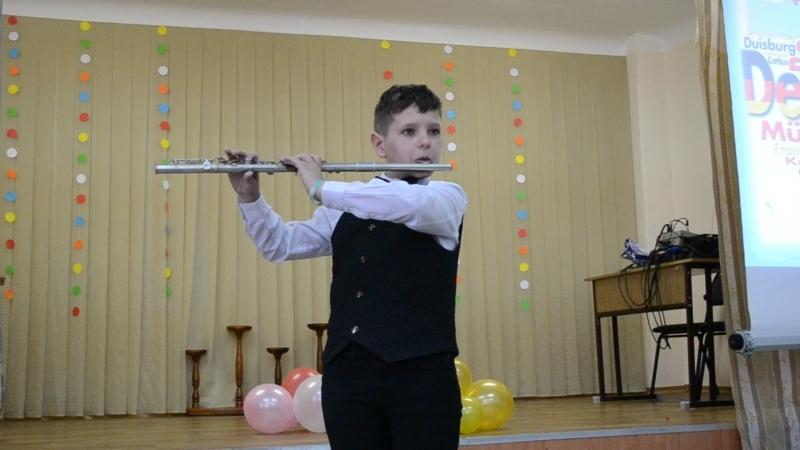Джепко Даниил флейта Неделя иностранных языков