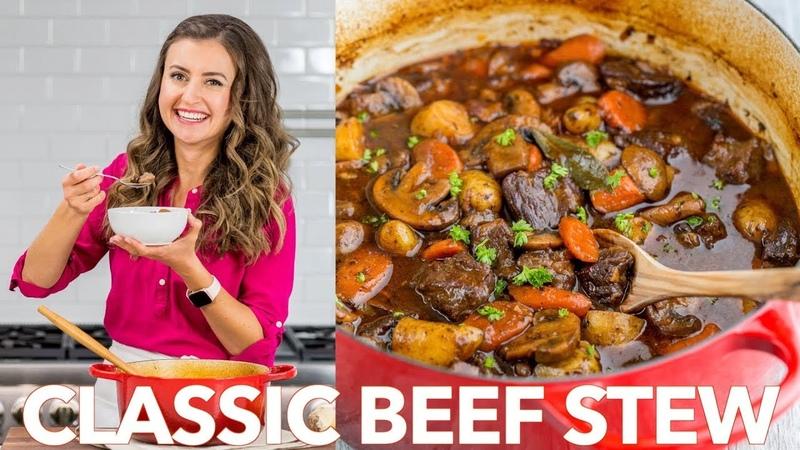 Classic Beef Stew Recipe - Natasha's Kitchen