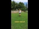 Elizabeth Olsen News — Elizabeth Olsen on Robbie Arnett's Instagram Story