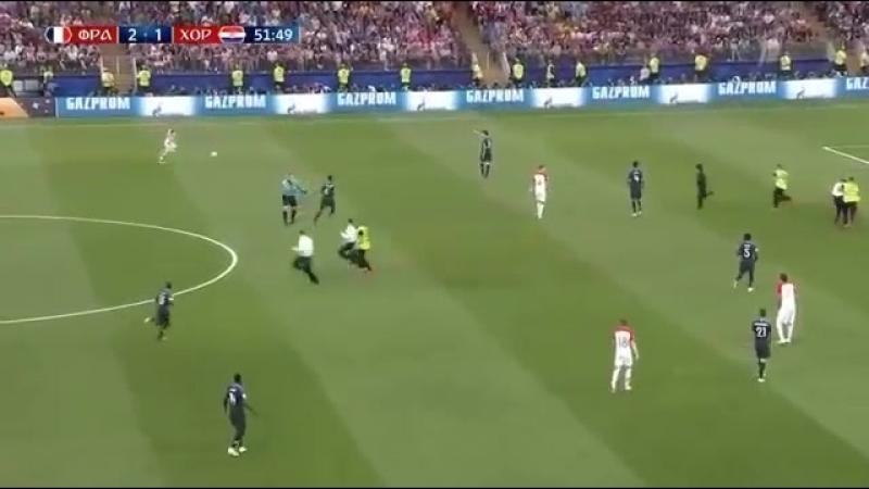 Франция - Хорватия. Решили добавить полевых игроков.