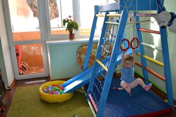 Детский домашний спортивный комплекс для малышей своими руками 98
