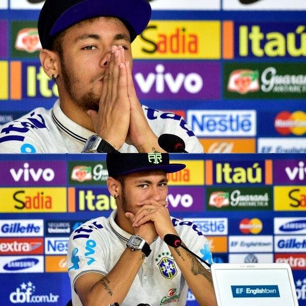 Agar Braziliya finalga chiqsa Neymar maydonga tushadi.