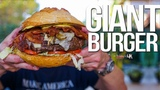The Best Giant Burger SAM THE COOKING GUY 4K