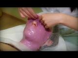 Фиолетовая с овсом и водорослями маска Касмара