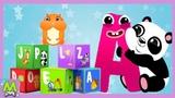 Английский Алфавит - Учим Буквы Весело - Учим Английский для Детей и Малышей.Обучающий Мультик