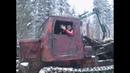 Лесорубы зажигают, лесной танк ТТ-4 в действии.