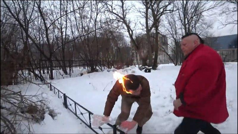 Стас Барецкий поджог Нарко-закладчика Жесткач!