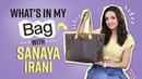 What's in my bag with Sanaya Irani | Fashion | Television | Pinkvilla