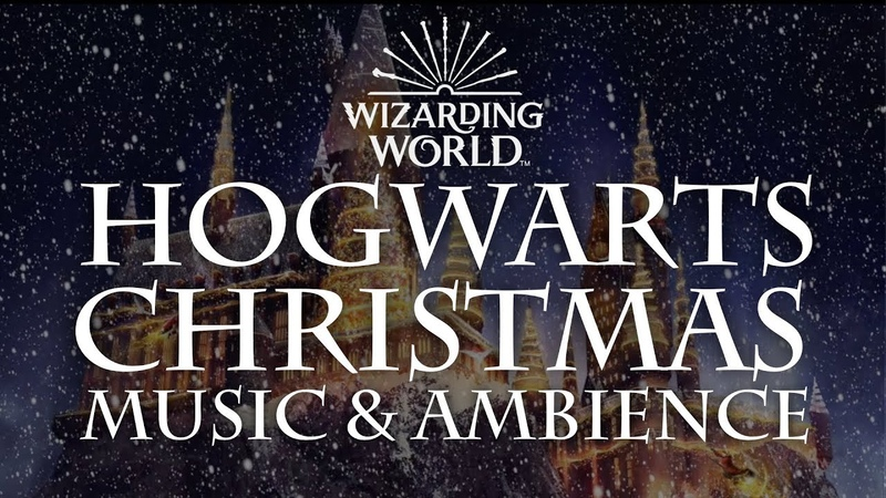 Harry Potter Music Ambience   Hogwarts Christmas Music with Snow Sounds