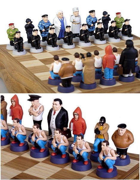 Креативный вариант шахмат