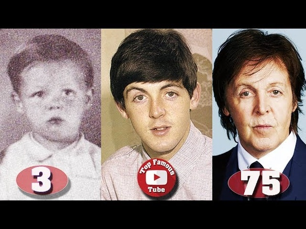 Paul McCartney   The Beatles   Transformation From 1 to 75 Years Old