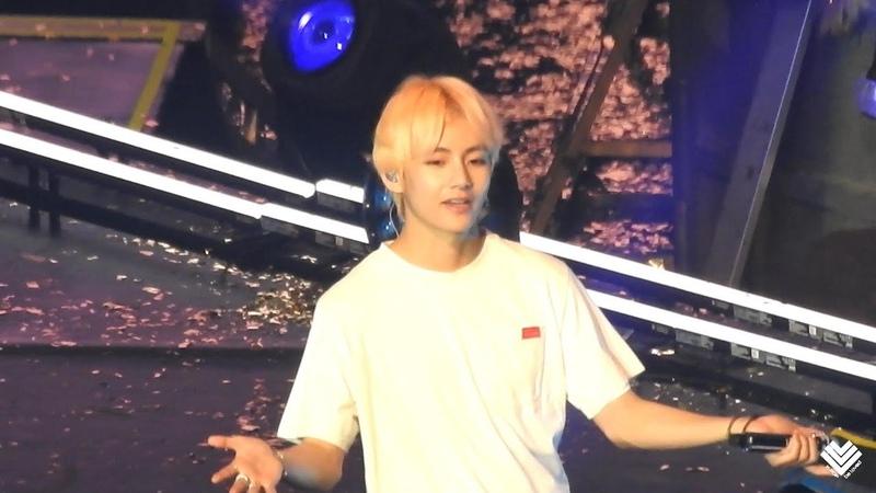 [Fancam]180905 BTS【Answer:Love Myself:V 뷔 Focus】LOVE YOURSELF in LA