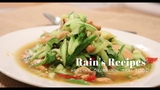 How to make Your own THAI CUCUMBERS SPICY SALAD in the easy simple way l