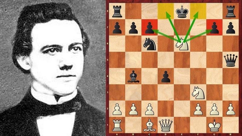 Шахматы Атакует Пол Морфи