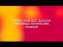 Вячеслав Богданов - Пирамида логических уровней