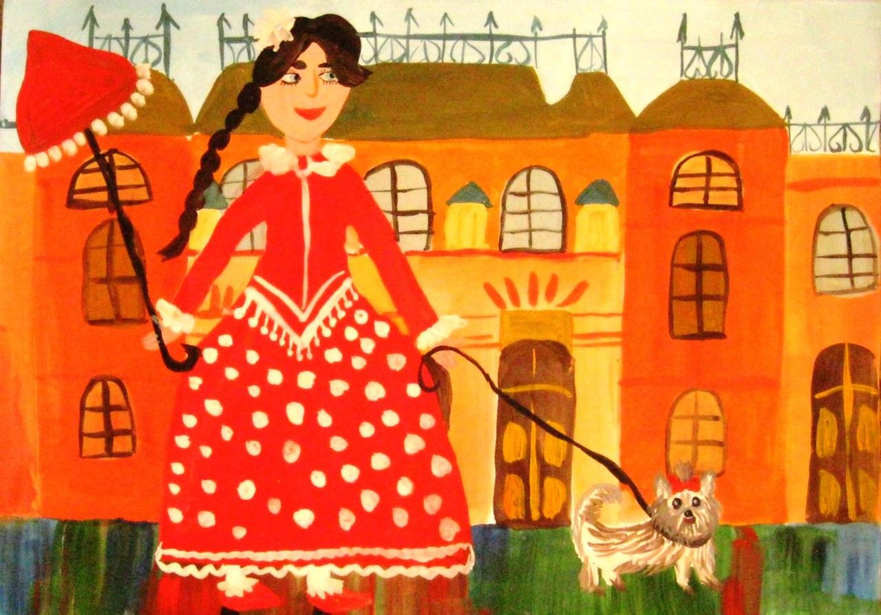 Яковлев Павел, ГУО «СШ №2»  - «Дама с собачкой»
