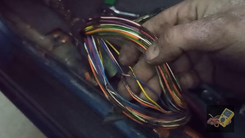 Daewoo Lanos короткое замыкание цепи поворота