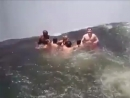 Купель Дьявола на водопаде Виктория. 120 метров. Смертность 1-2 человека в год.