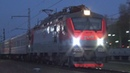 Электровоз ЭП20-026 с фирменным поездом №29 Новороссийск - Москва