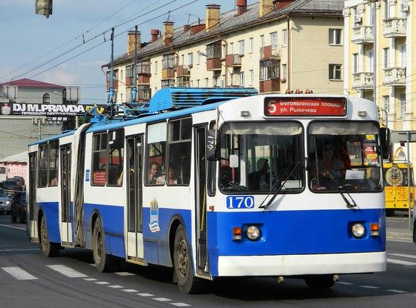 Движение троллейбусов будет