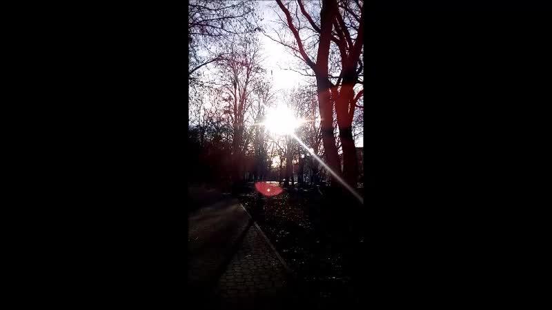 Симферополь Парк имени Тренёва Любимое место.