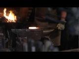 Рождение Инструмента. Часть 3. Изготовление ножа из дамасской стали (инструменты Джона Нимена)