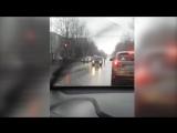 В Каменске-Уральском машина ДПС врезалась в ВАЗ