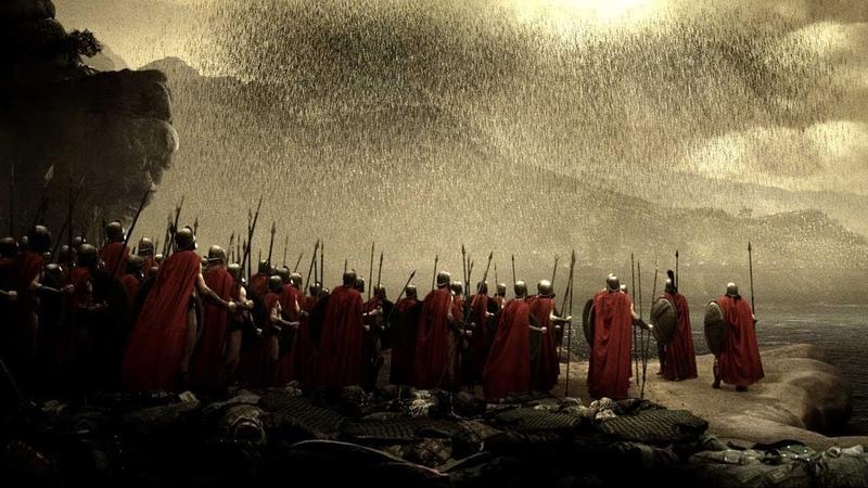 300 (2006) - Hot Gates Battle (2/2) | Movieclips