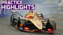 Practice Highlights! 2019 FWD Sanya E-Prix | ABB FIA Formula E Championship