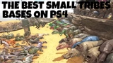 THE TOP 3 BIGGEST PS4 SMALL TRIBES BASES ON ARK SURVIVAL EVOLVED