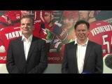 КХЛ'13/14: Интервью с Шоном Симпсоном и Колином Мюллером (Перевод на русский язык).