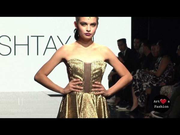 USAMA ISHTAY at Art Hearts Fashion Los Angeles Fashion Week