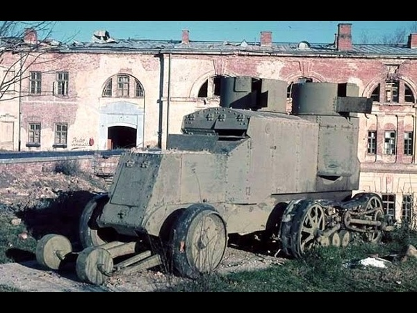 Russian Armored Cars of World War 1