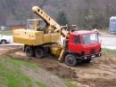 Tatra 815 UDS 114 Татра УДС в работе