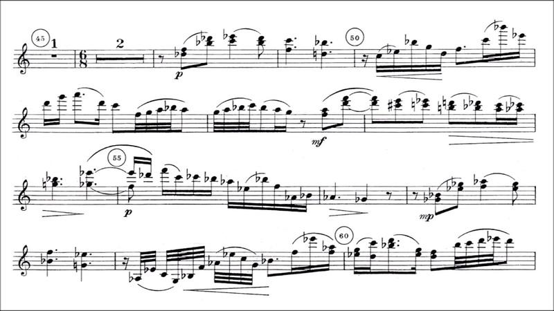 Milhaud, Darius violin concerto no.2 Op.263 for violin orchestra