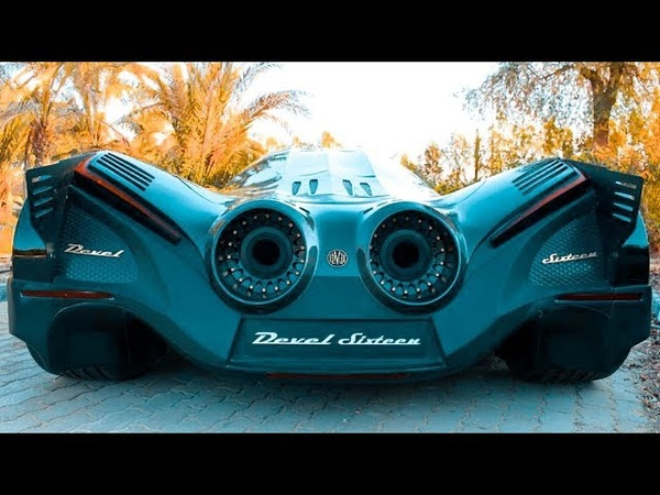 5000HP Devel Sixteen - Crazy V16 Supercar with 560kmh Top Speed