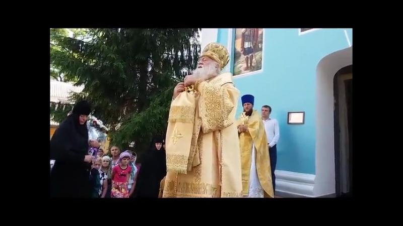 13 07 2018 Богослужіння з нагоди пам'яті cвятителя Софронія єпископа Іркутського у жіночому Покровському Красногірському монас
