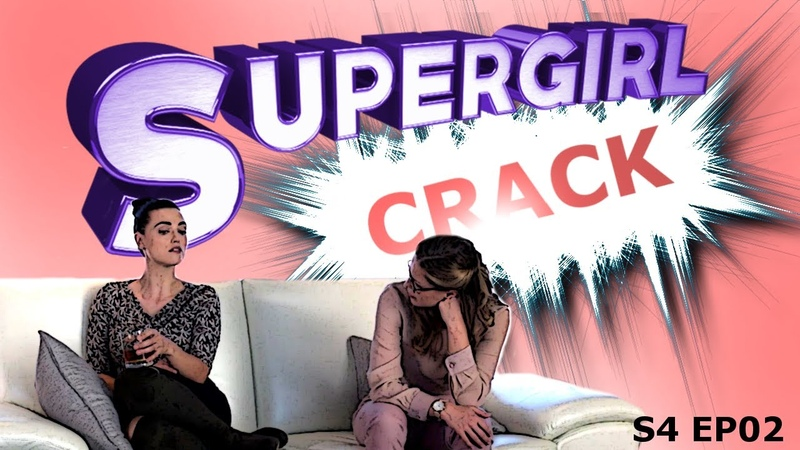SUPERGIRL CRACK 4X02 SuperCorpWillRise