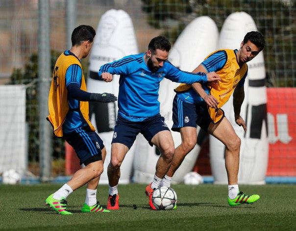 Real Futbolchilari Romaga qarshi mashg'ulot o'tkazishdi Foto